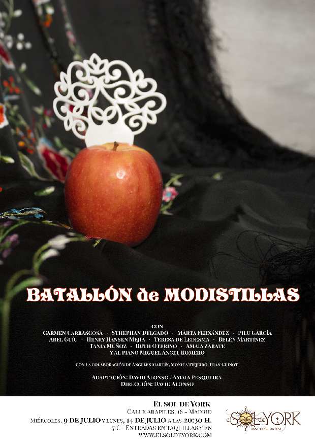 "Batallón de Modistillas, sobre ""Las Entretenidas"" de Mihura"